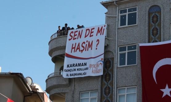 BAŞBAKAN KARAMAN'DA