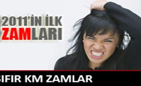 2011 Yılının Zam Tarifesi,İyi Zamlar..