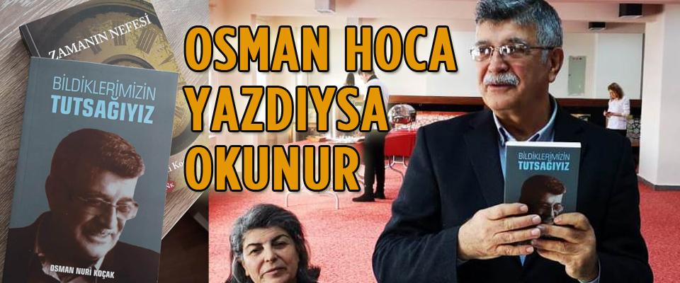 Gazeteciler Gününde Osman Hocaya Misafir olduk..