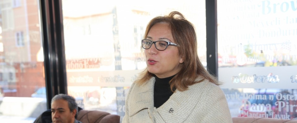 MHP Nevşehir Belediye Başkan adayı Kılıç gazetecilerle buluştu