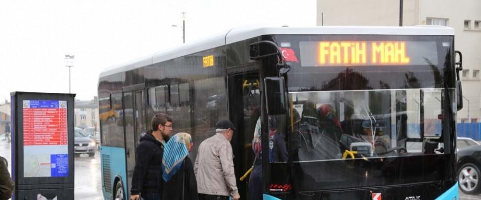 26,7 milyon kişi toplu taşıma kullandı
