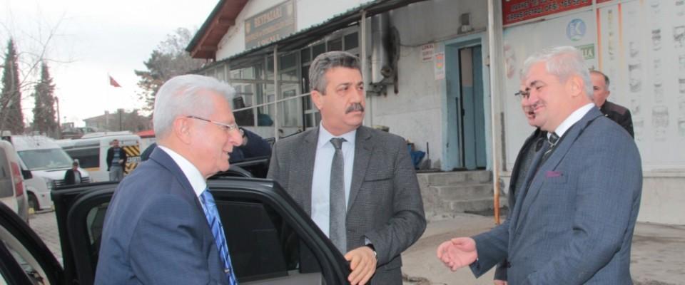 TŞOF başkanı Apaydın'dan ziyaret