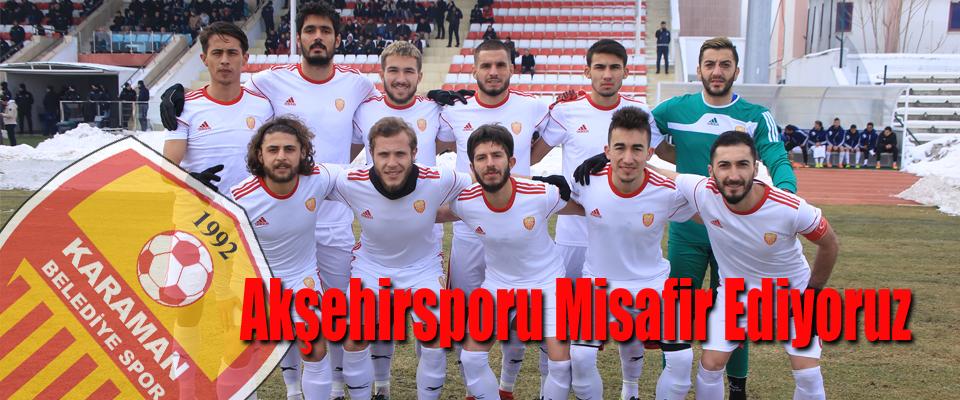 Akşehirspor Maçı Pazar günü..