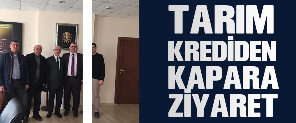 BAŞKAN KAPAR'A ZİYARET