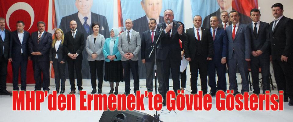 MHP'den Ermenek'te gövde gösterisi