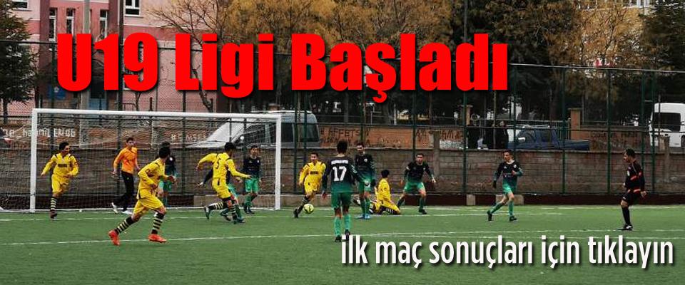 U19 Ligi Başladı..