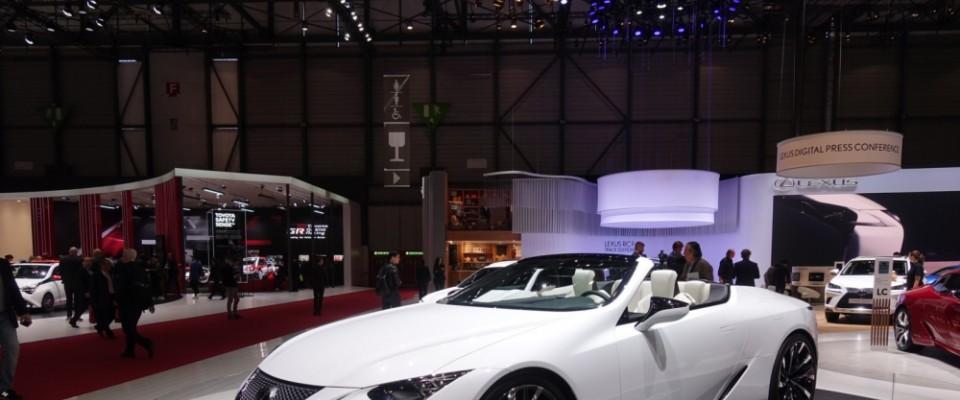 Lexus, Cenevre'de iki modelin Avrupa prömiyerini gerçekleştirdi