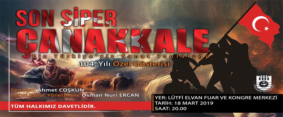 Son Siper Çanakkale