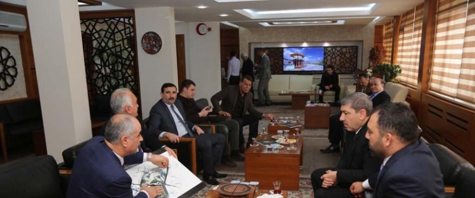 Yerlikaya, Belediye Başkanı Aydın'ı ziyaret etti