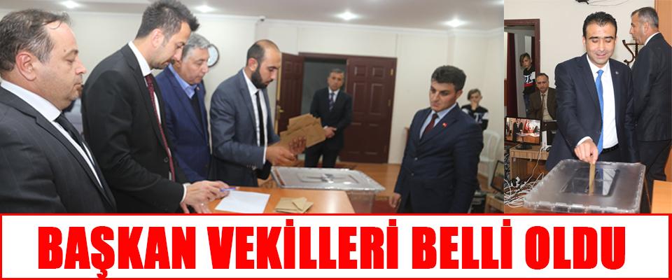 Belediye Meclisinde Başkan Vekili ve Komisyon Üyeleri Belirlendi