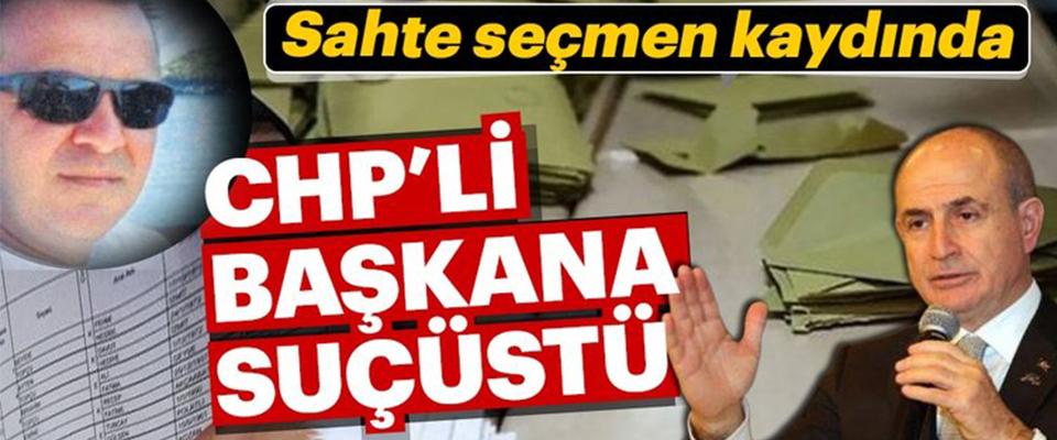 CHP'li Başkana Suçüstü