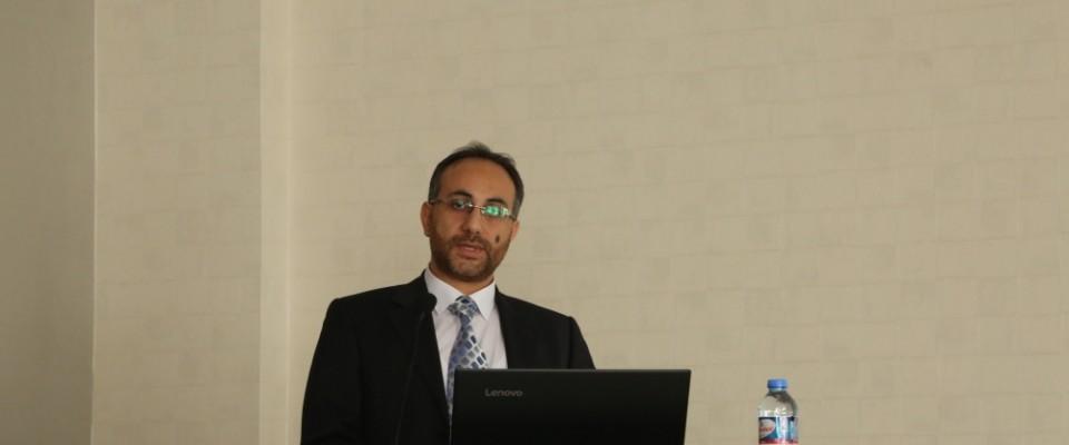 """CÜ'de """"Organik Kimya ve İlaçlar"""" semineri düzenlendi"""