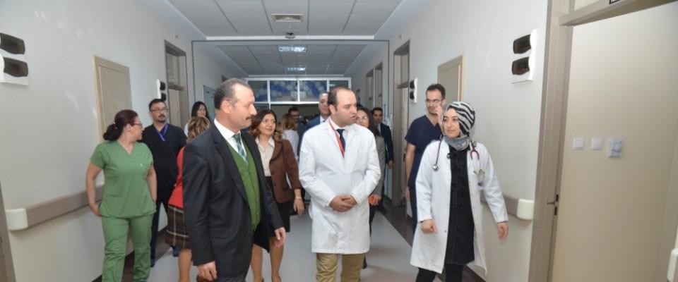 KKÜ Tıp Fakültesinde İbn-i Sina Palyatif Bakım Ünitesi açıldı