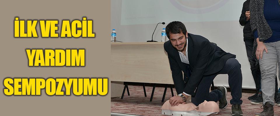 KMÜ'de İlk ve Acil Yardım Sempozyumu Düzenlendi