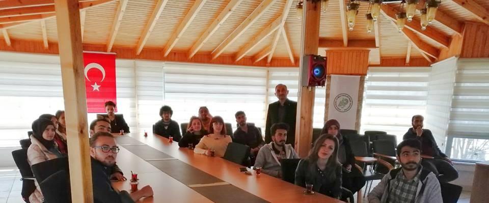 Turizm rehberliği öğrencileri Beyşehir Milli Parkı'nı gezdi