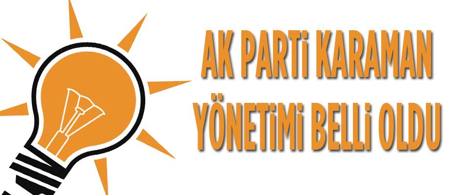 AK Parti Karaman İl Yönetimi..