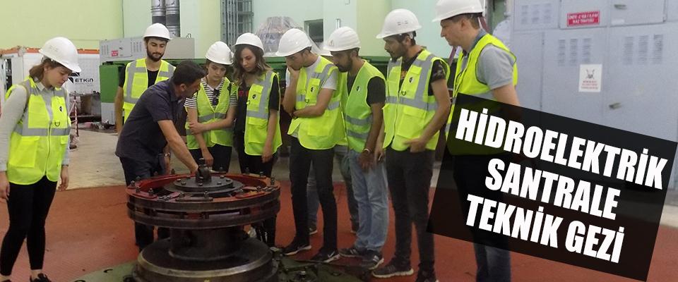 Hidroelektrik Santraline Teknik Gezi