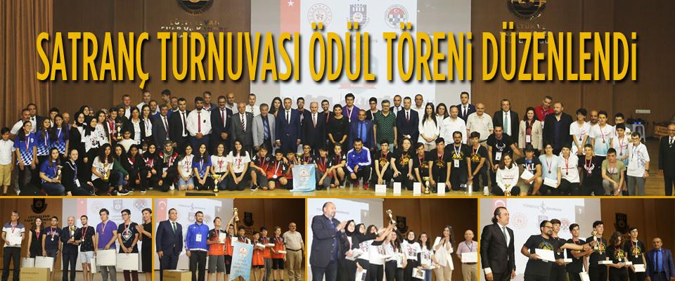 Satranç Finalleri Ödül Töreni