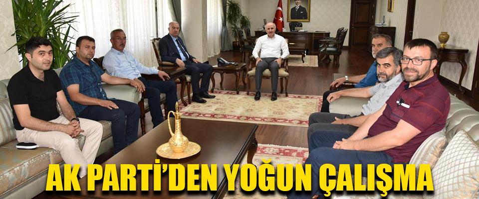 AK Parti'den Yoğun Çalışma