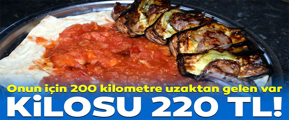 Tokat'a turist çeken eşsiz lezzet: Tokat kebabı!