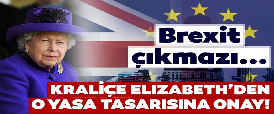 Anlaşmasız Brexit'i önleyecek tasarıya Kraliçe'den onay!