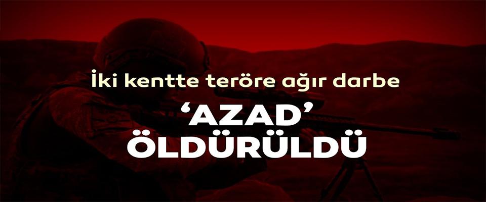 Diyarbakır ve Mardin'de teröre ağır darbe