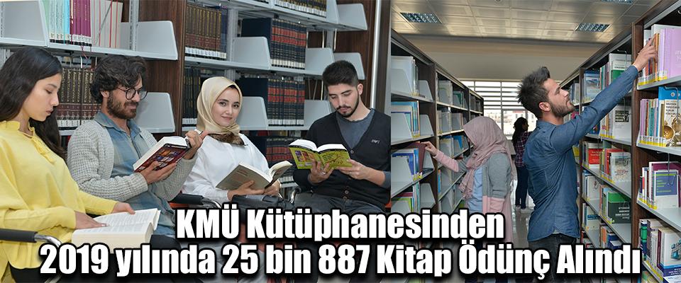 2019 yılında 25 bin 887 Kitap Ödünç Alındı