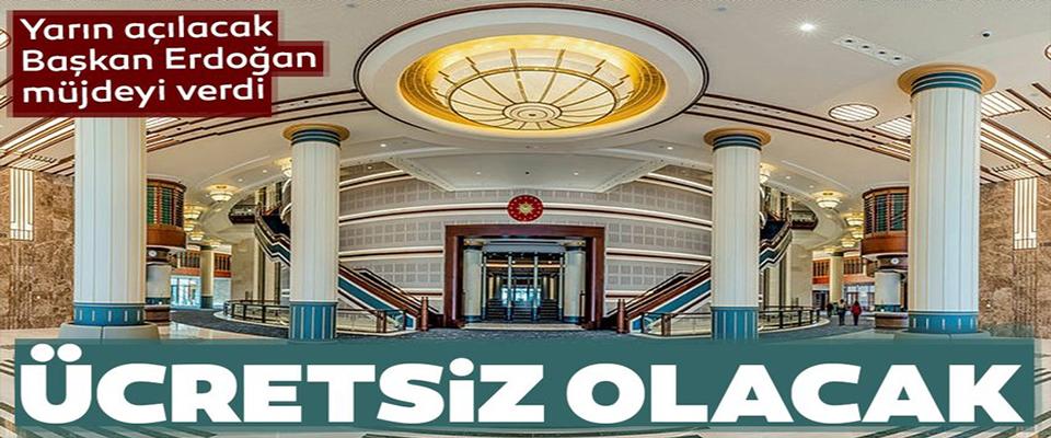 Cumhurbaşkanı Mirzoyev'in katıldığı törenle açılacak