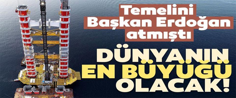 Temelini Başkan Erdoğan atmıştı!
