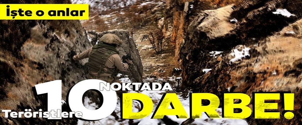Terör örgütü PKK'ya darbe!
