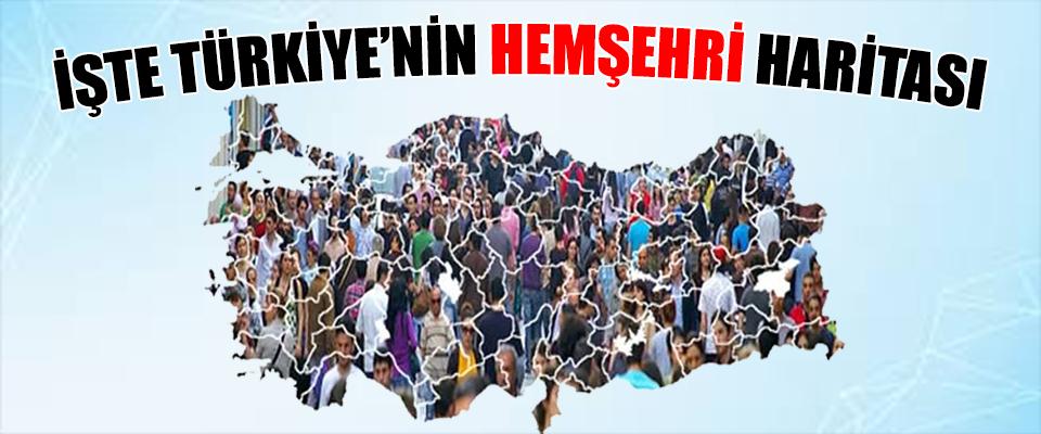 Türkiye'nin Hemşehri Profili