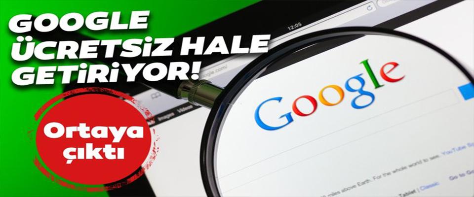 Google'dan sürpriz karar!