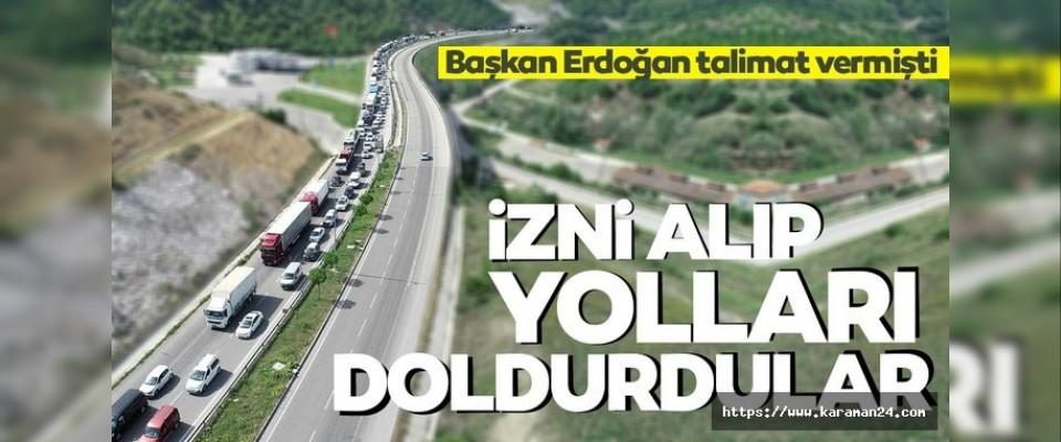Başkan Erdoğan talimat vermişti!