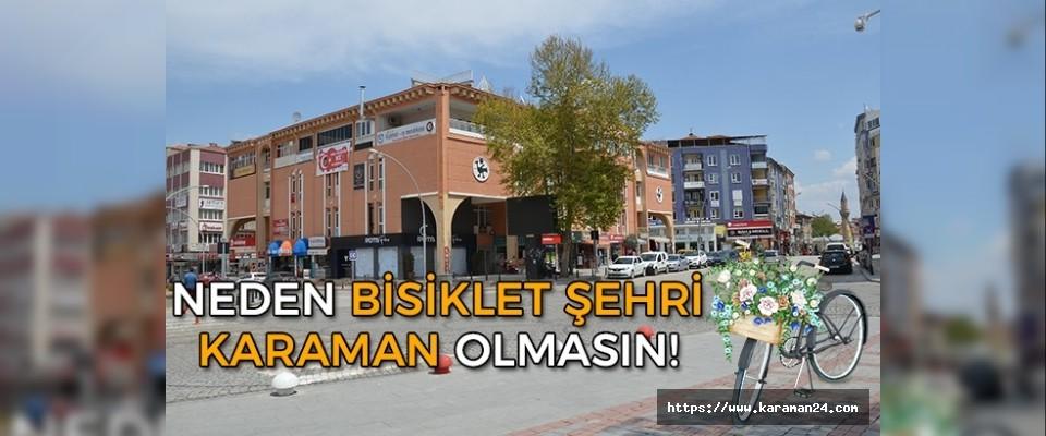 Bisiklet Şehri Karaman!