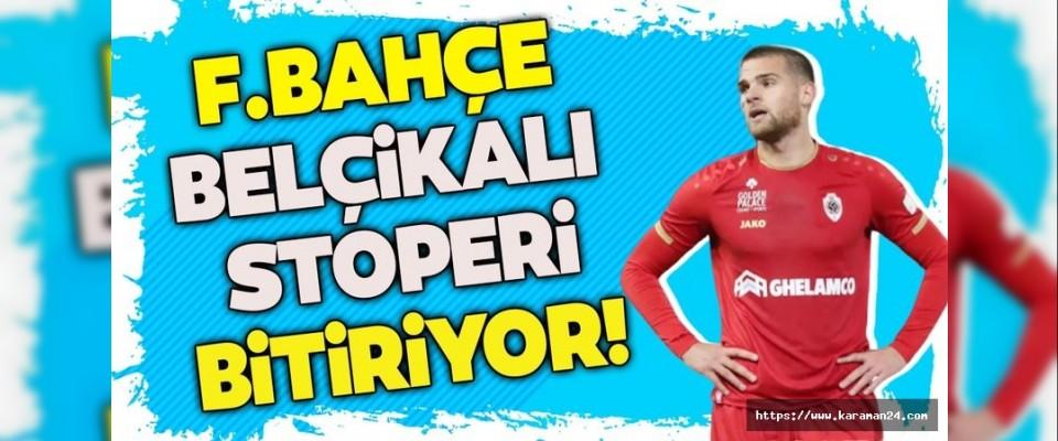 Fenerbahçe'ye Belçikalı stoper!