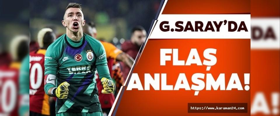 Galatasaray'da flaş anlaşma!