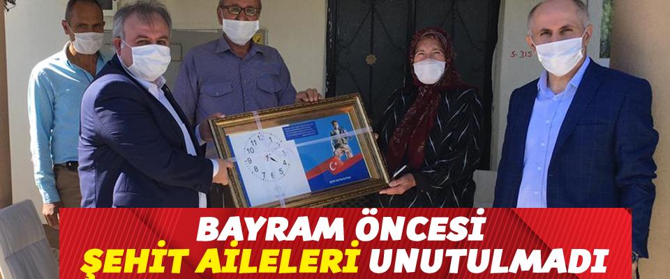 Ramazan Bayram Öncesinde Şehit Aileleri Ziyaret Edildi