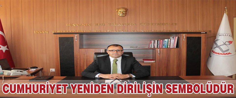 Asım Sultaoğlu'ndan Cumhuriyet Bayramı Mesajı