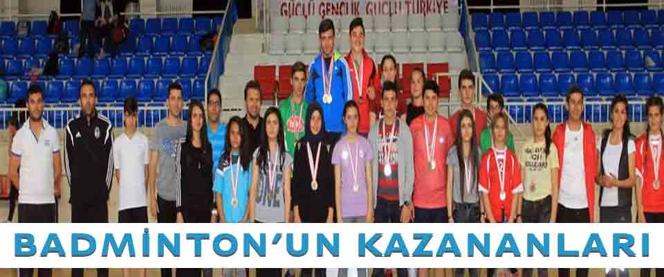 Badmintonda kazananlar belli oldu