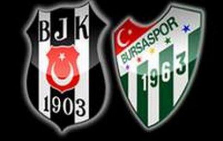 Beşiktaş Haftayı Bursa galibeyeti ile kapattı.