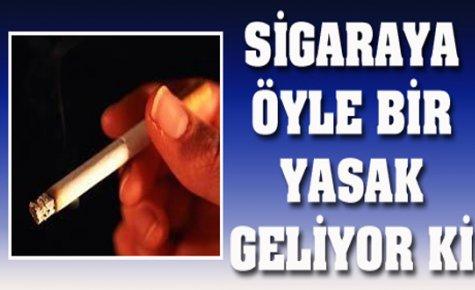 Bundan Böyle ''Bakkal ve Marketlerden sigara siparişi verilemeyecek.''