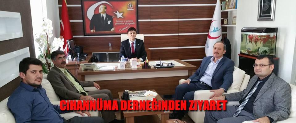 Cihannüma Derneği Erenoğlu#039;nu Ziyaret Etti