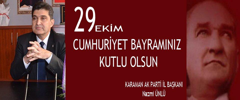 Cumhuriyetimizin 92. yıl dönümünü milletçe büyük bir gururla kutluyoruz.