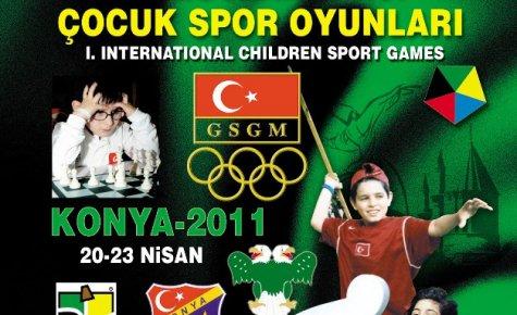 Dünya Çocuk Olimpiyatları Konya'da doğuyor
