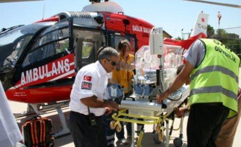 Hava Ambulansı İle Hayata Merhaba