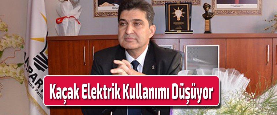 Kaçak Elektrik Kullanımı Düşüyor