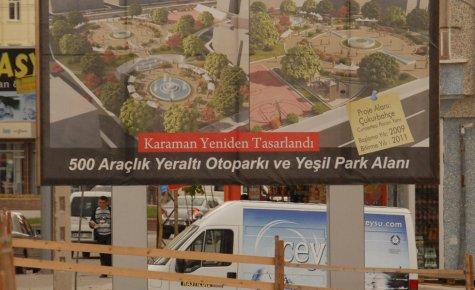 Karaman Belediyesi Çukurbahçe İhalesini Yaptı