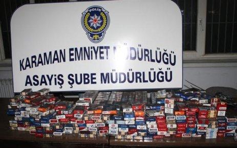 Karaman Emniyeti'nden Hırsızlık Operasyonu