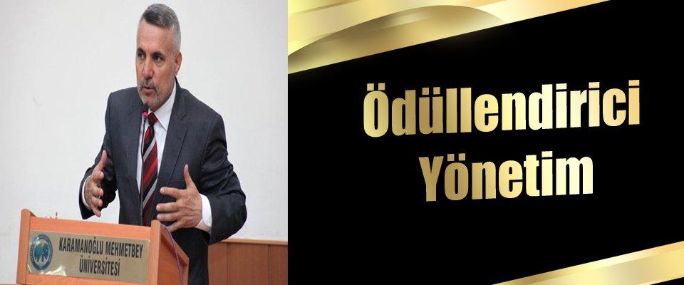 """KARATAŞTAN KMÜDE ÖDÜLLENDİRİCİ YÖNETİM"""" SÖZÜ"""