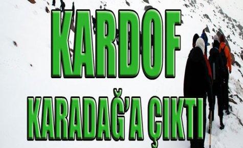 Kardof Hafta Sonu Karadağ'daydı